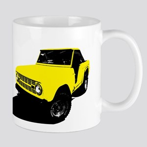 Yellow Bronco Mug